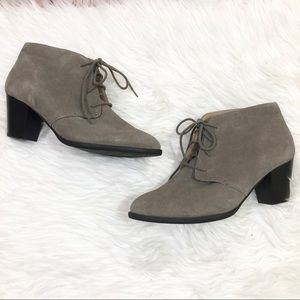 VIONIC Zenda gray Ankle Booties